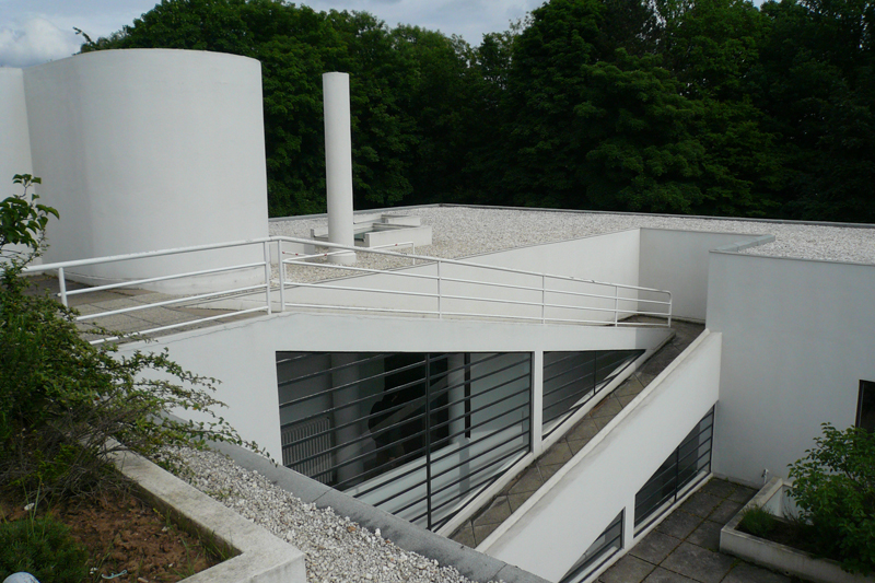 Le corbusier villa savoye poissy 1929 - Le corbusier tetto giardino ...